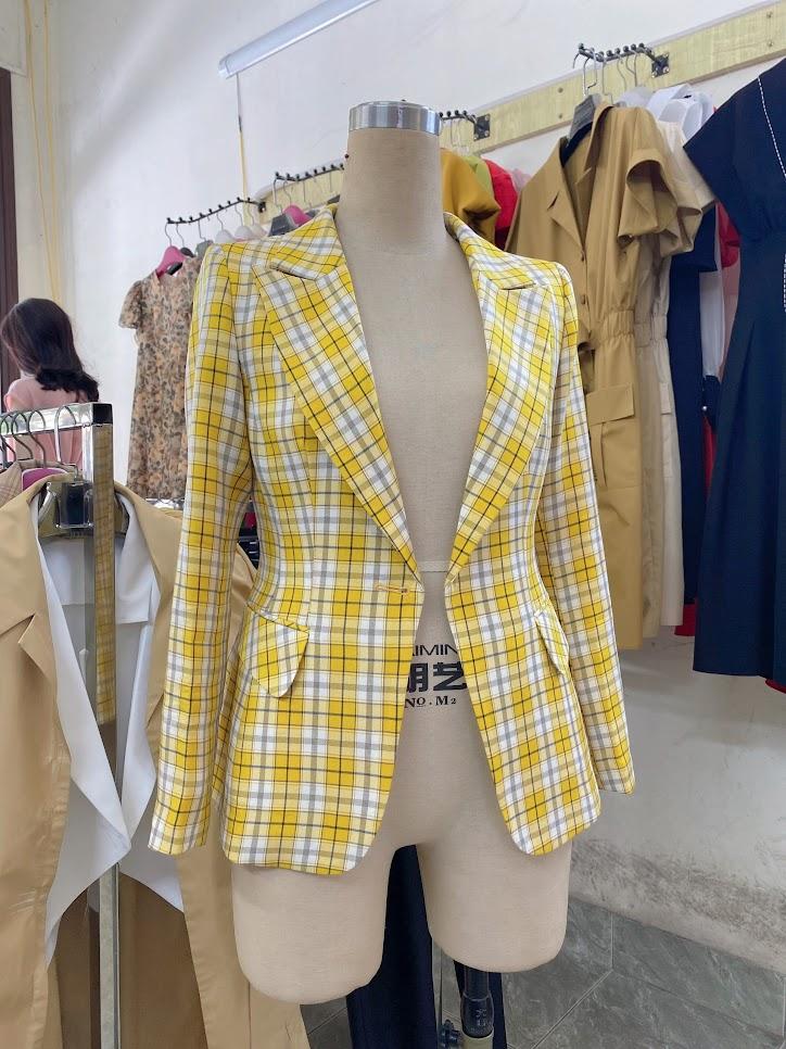áo vest nữ công sở dáng eo phối đồ mặc đẹp thời trang thủy hải phòng 2