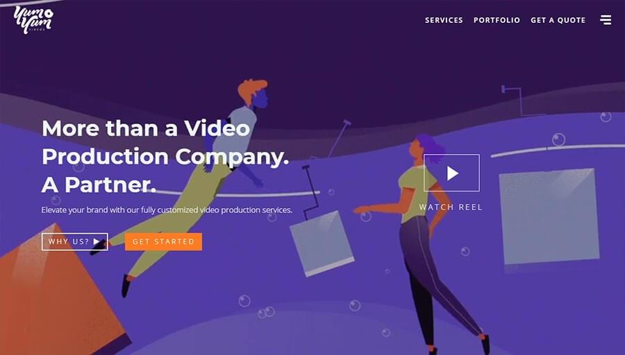 Sitio web Yum Yum Videos