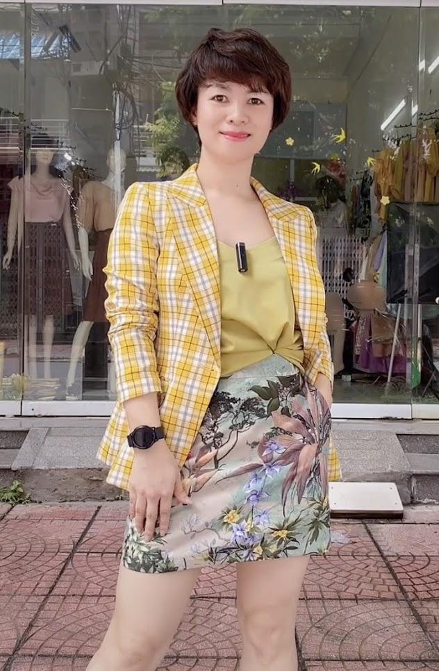 áo vest nữ công sở dáng eo phối đồ mặc đẹp thời trang thủy hải phòng 1