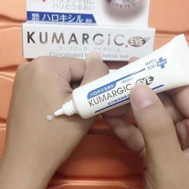 kem trị thâm quầng mắt Cream Kumargic Eye có tốt không?