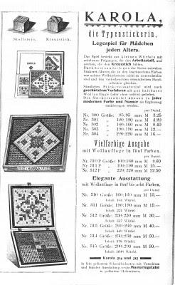 Anker-Katalog 1915 - (c) ankerstein.ch