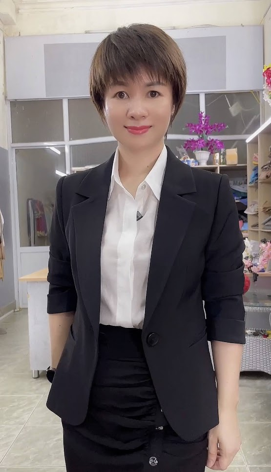 áo vest nữ 1 lớp chân váy bút chì công sở mặc đẹp thời trang thủy sài gòn