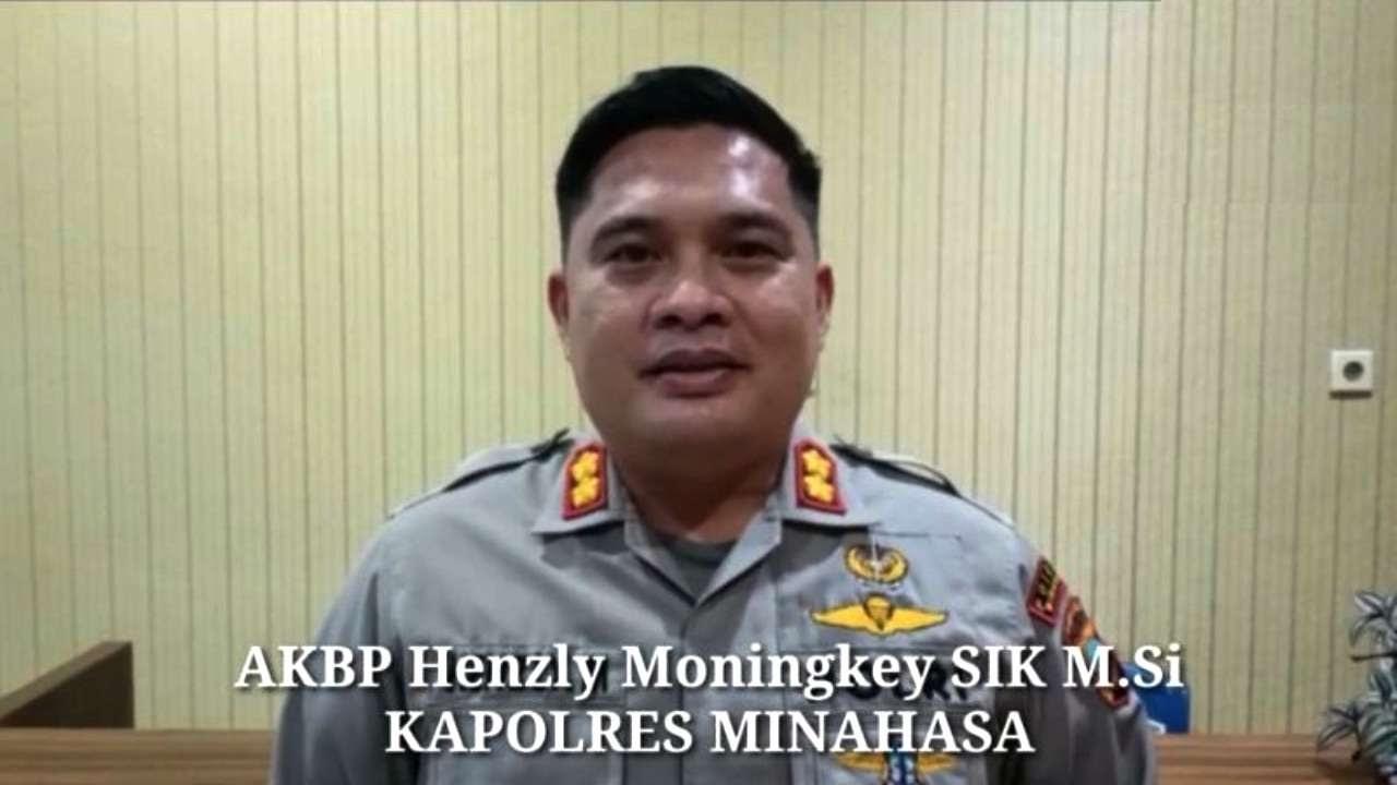 Henzly Moningkey Kapolres