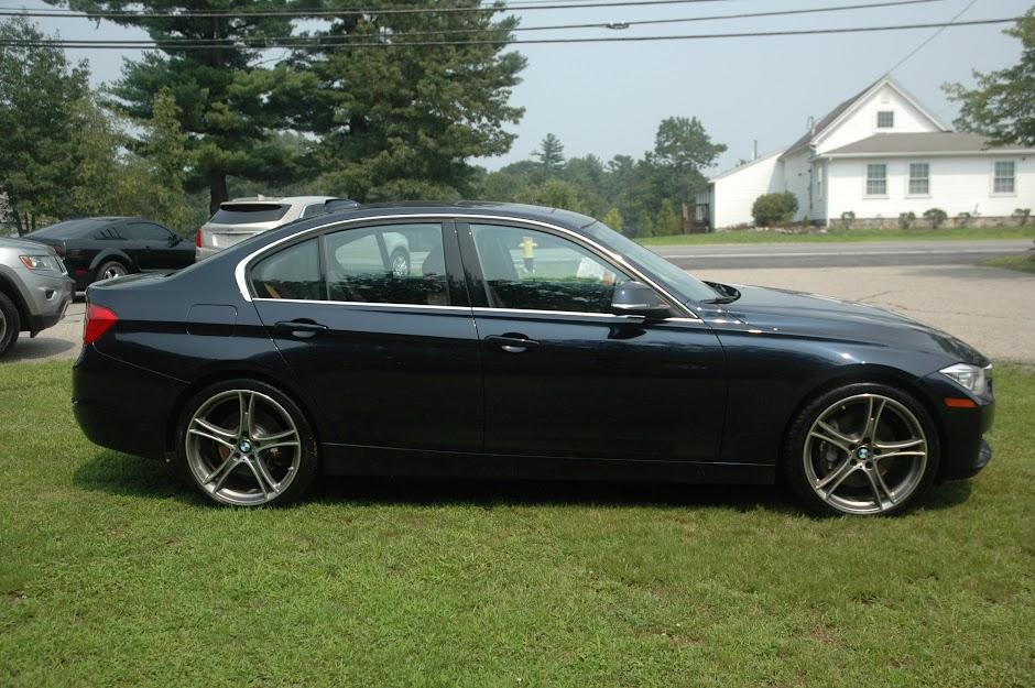 2014 BMW 335i XDrive Blue
