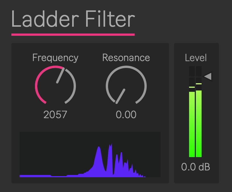 Lader Filter for Ableton Live