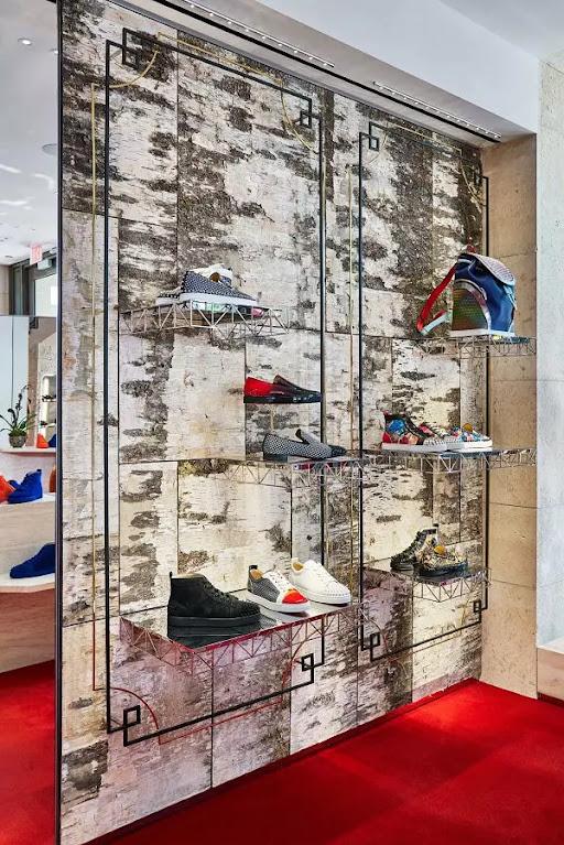 nội thất shop giày