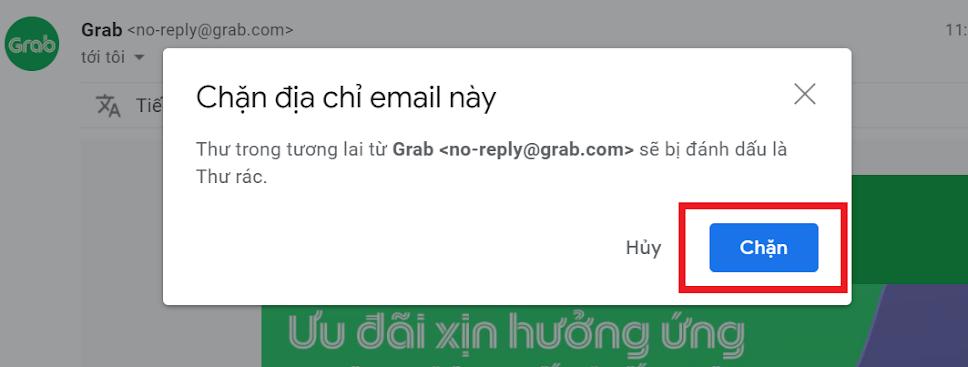 cách chặn thư rác trong gmail