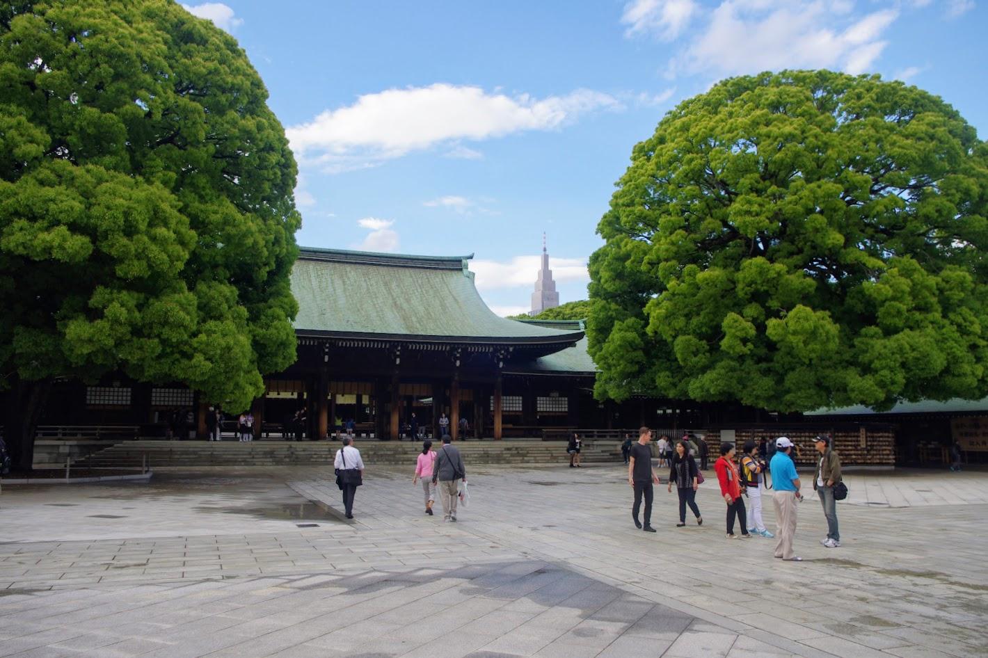 Qué ver en Tokio. Santuario de Meiji