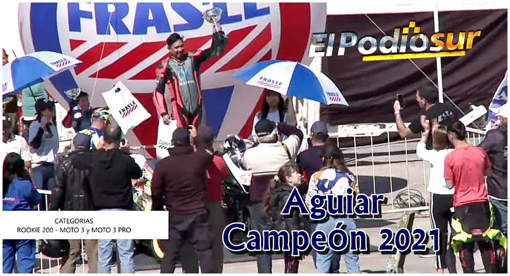 Aguiar se trajo la corona de campeón para Chubut