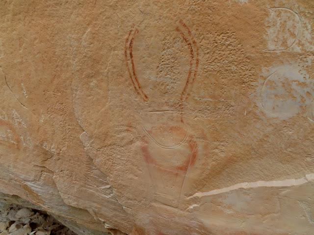 Fremont petroglyph/pictograph