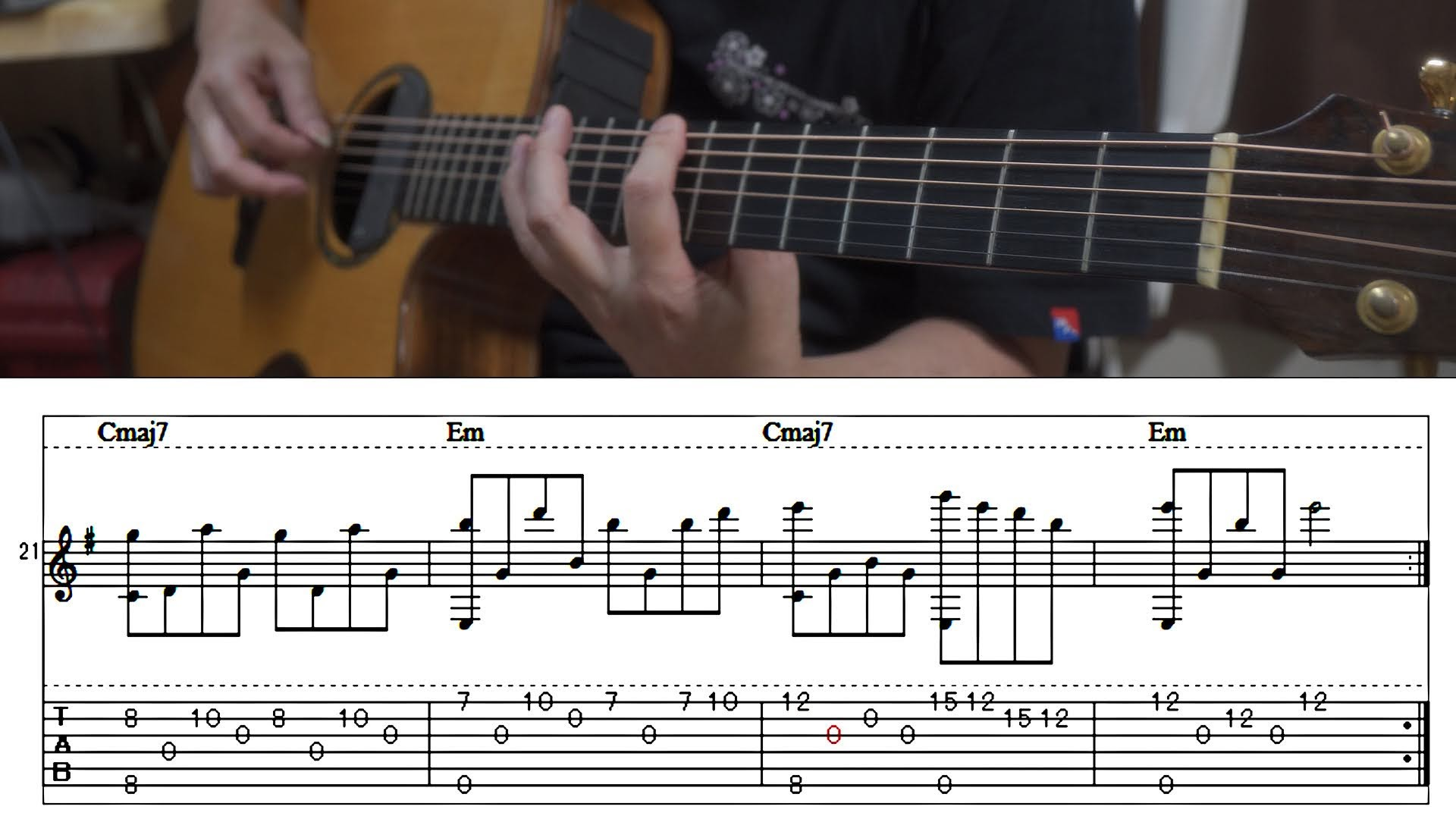 癒しのSolo Guitar「Nostalgia」TAB譜付