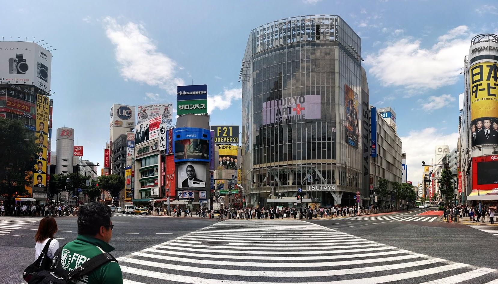Qué ver en Tokio. Cruce de Shibuya