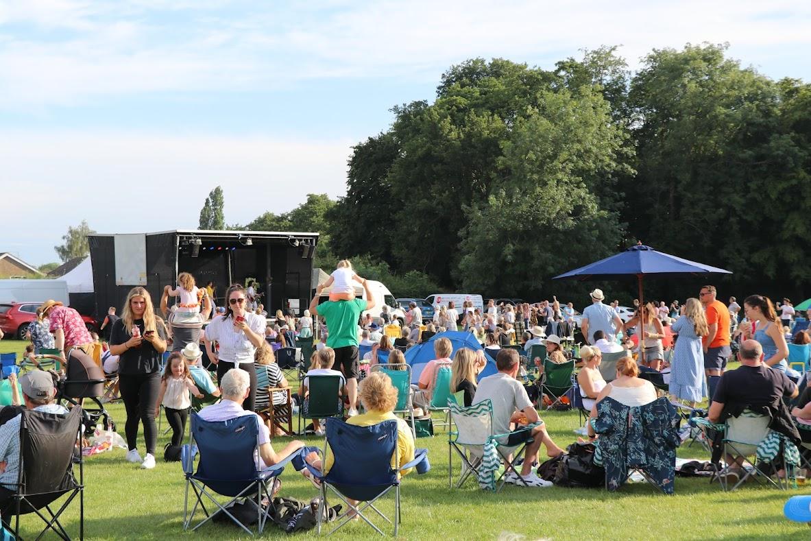 Tributes in the Park 2021, St Michaels, Tenterden