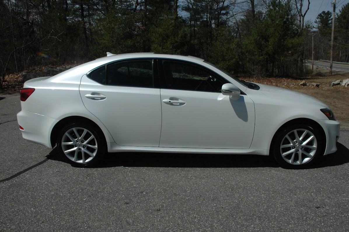 2013 Lexus IS250 AWD White