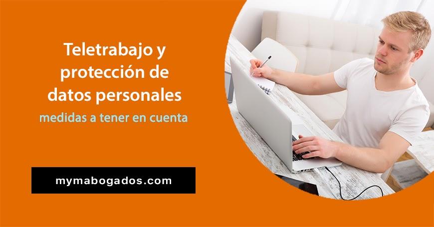 Teletrabajo y protección de datos personales; medidas a tener en cuenta | Melián Abogados