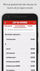 gva.be mobile screenshot 2