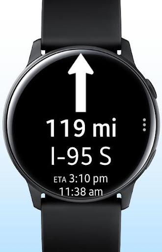 Navigation Pro: Google Maps Navi on Samsung Watch 10.38 screenshots 2