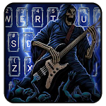 Thunder Rock skull Keyboard theme Icon