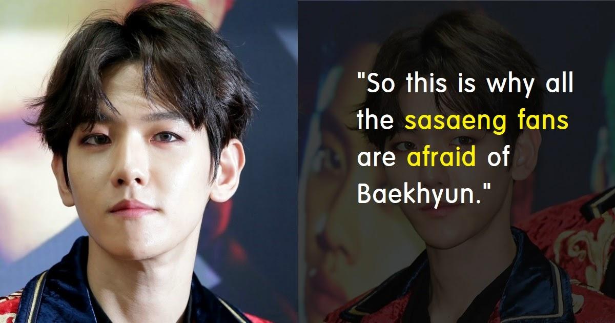 Sasaeng Fans Attack EXO's Baekhyun For His Attitude - Koreaboo