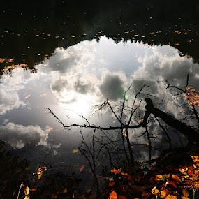 Yansıma by Adem Yağız - Landscapes Waterscapes ( reflection, göl, yansıma, lake )
