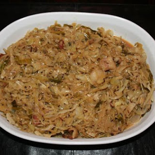 Braised Cabbage With Bacon and Caraway Seeds