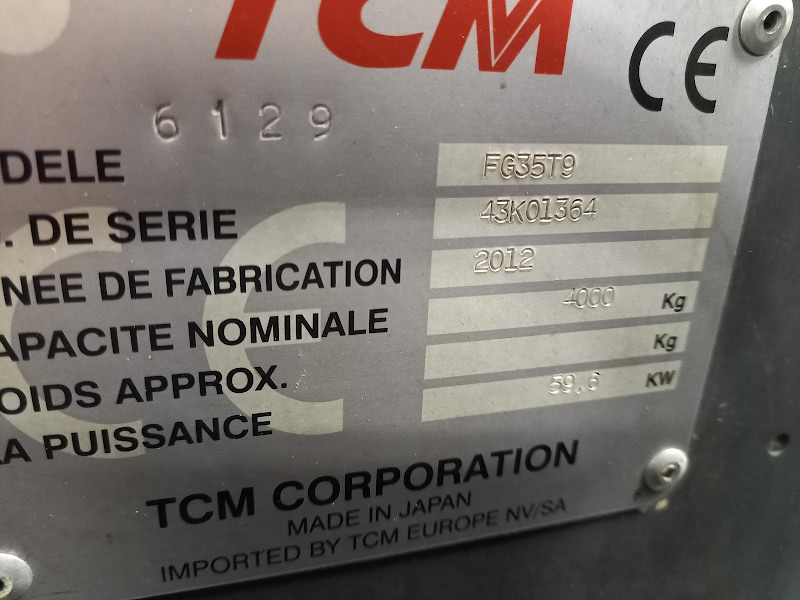 Picture of a TCM FG35T9
