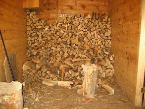 Photo: Burası odunluğu