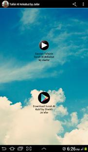 Tafsir Al Ankabut by Jafar - náhled