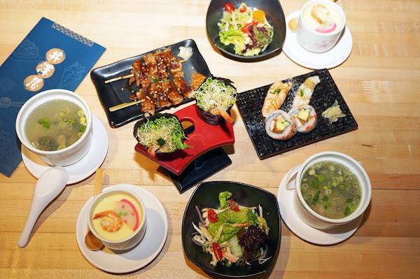 井澤屋日式家庭料理| 台南日本料理|平日午時399雙人優惠套餐|串燒壽司沙拉湯品佛心全都包|全新日式風格用餐更舒適