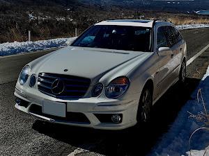 Eクラス ステーションワゴン W211 W211 E350のカスタム事例画像 福さん55さんの2021年02月24日00:05の投稿