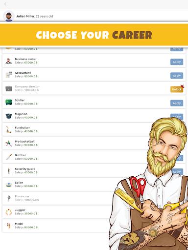 Simulife - Life Simulator Games android2mod screenshots 7