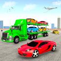 Multi Level Truck Car Transporter Games 2021 icon