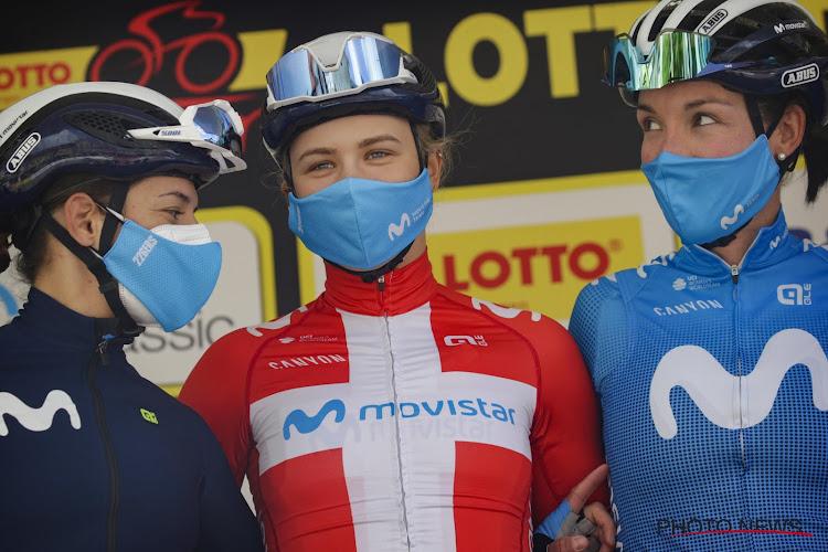 Deense kampioene klopt Lucinda Brand en Lotto Kopecky in eerste etappe Lotto Thüringen Tour