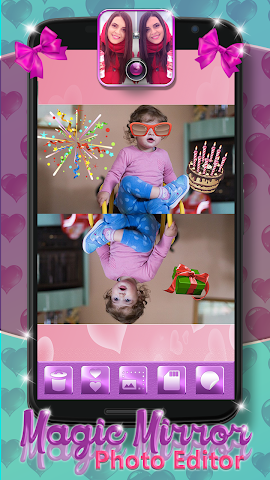 android Magic Mirror Photo Editor Screenshot 5