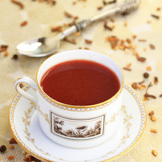 Hot Spiced Cranberry Punch