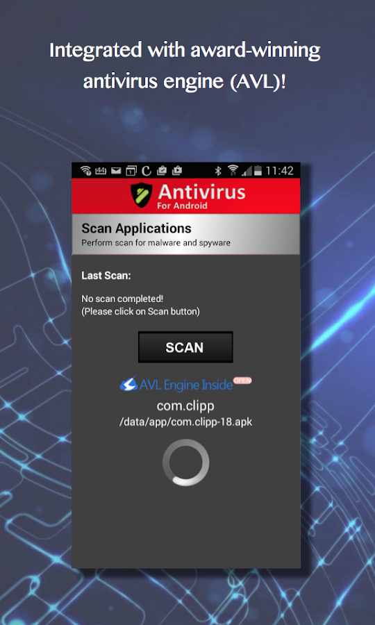 Free Antivirus for Android- screenshot