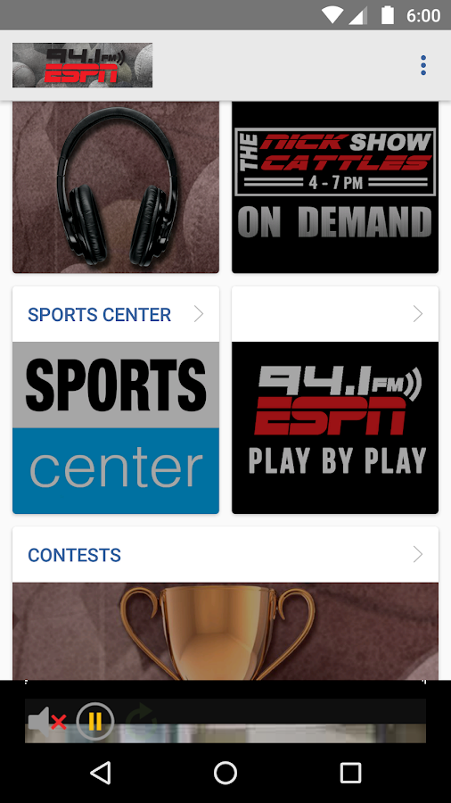 ESPN 94.1- screenshot