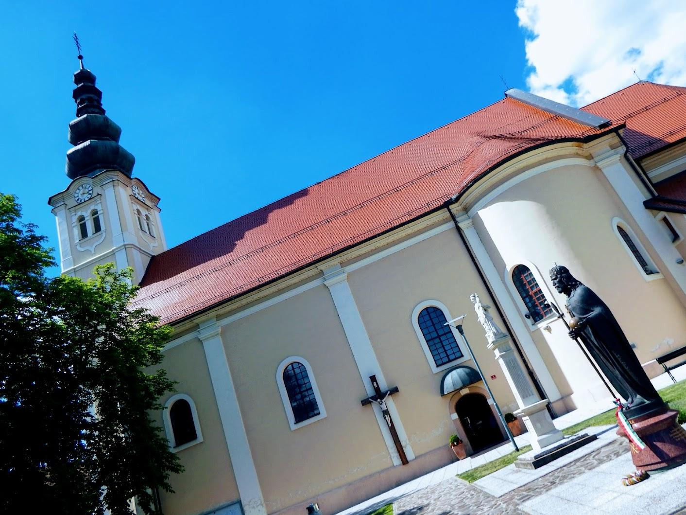 Lendava (Lendva) - cerkev sv. Katarine Aleksandrijske (Alexandriai Szent Katalin rk. templom)