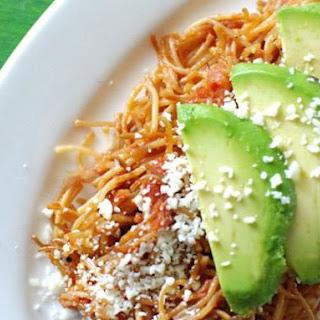 Sopa Seca (Mexican Noodle Casserole).