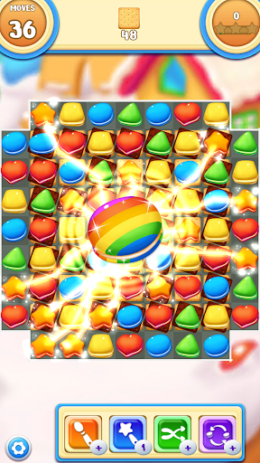 Cookie Macaron Pop : Sweet Match 3 Puzzle filehippodl screenshot 2