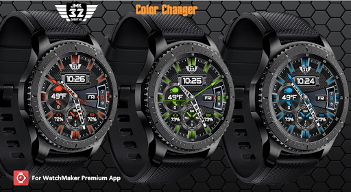 Screenshot for Z SHOCK 23 color changer watchface for WatchMaker in United States Play Store