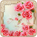 Pink Roses Theme Classic icon