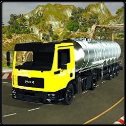 Oil Tanker Transporter Truck Driving Simulator 17