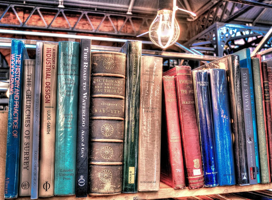 aged, antique, book stack