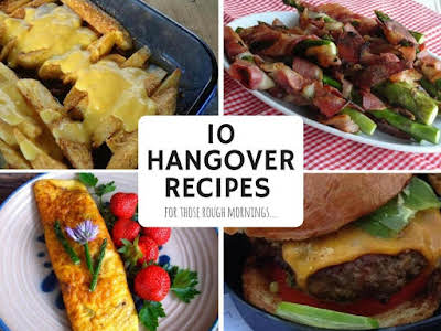10 Recipes to Cure Your Hangover