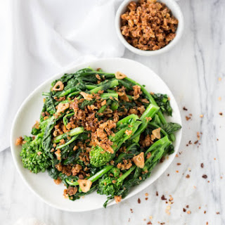 Garlicky Broccoli Rabe with Chili Breadcrumbs Recipe