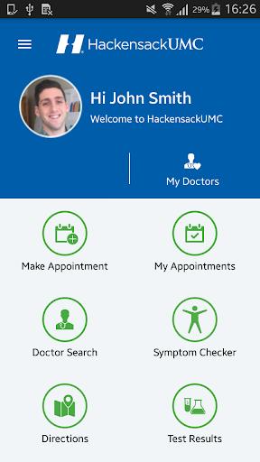 HackensackUMC Mobile Access