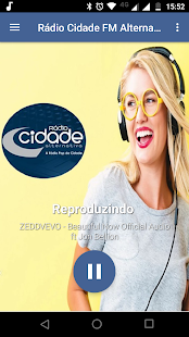 Rádio Cidade FM Alternativa for PC-Windows 7,8,10 and Mac apk screenshot 1