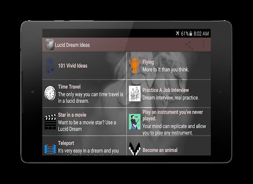 無料生活Appの明晰夢のアイデア 記事Game