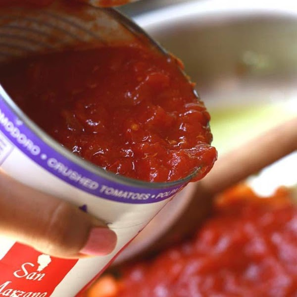 The contents of a can of tomatoes are relatively simple. You'll find tomatoes, tomato...